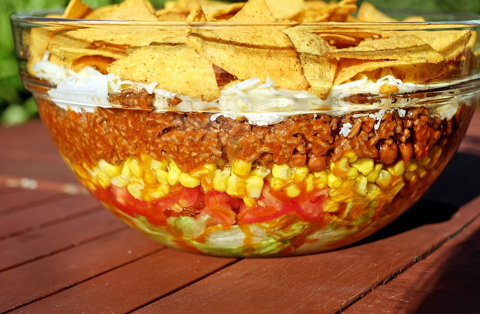 Read more about the article The World's Most Amazing 7 Layer Taco Salads