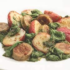 Warm Chicken Sausage & Potato Salad Recipe | EatingWell