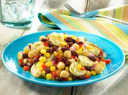 Fresh Mexican Bean Salad